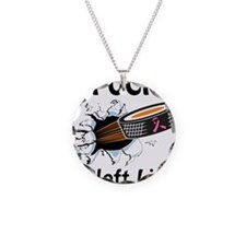 Puck Cleft Lip Necklace Circle Charm