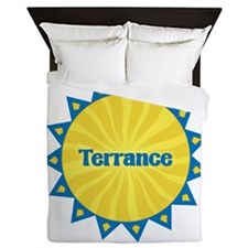 Terrance Sunburst Queen Duvet
