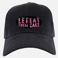 Let Them Eat Cake Pink Baseball Hat