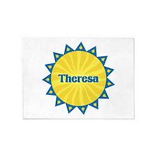 Theresa Sunburst 5'x7' Area Rug