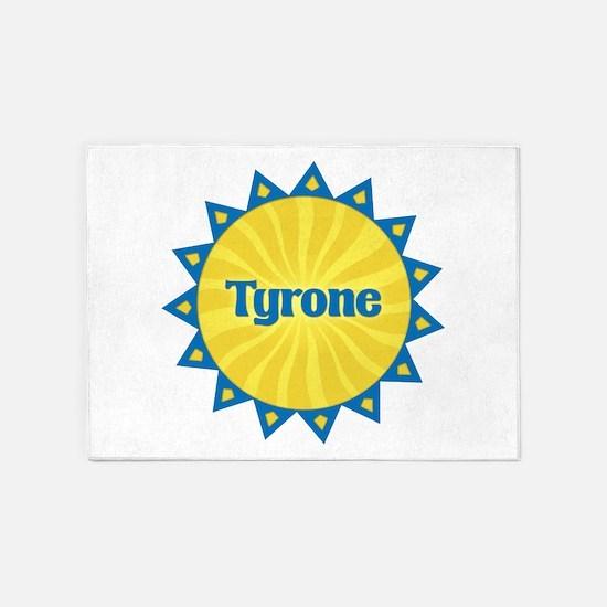Tyrone Sunburst 5'x7' Area Rug