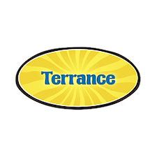 Terrance Sunburst Patch