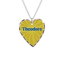 Theodore Sunburst Necklace