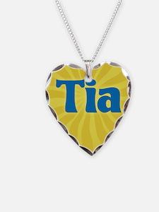 Tia Sunburst Necklace
