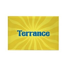 Terrance Sunburst Rectangle Magnet