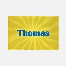 Thomas Sunburst Rectangle Magnet