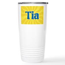 Tia Sunburst Travel Mug