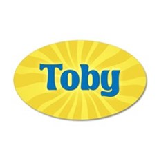 Toby Sunburst Wall Decal