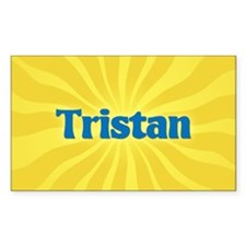 Tristan Sunburst Oval Decal