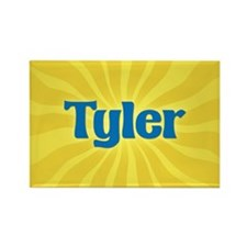 Tyler Sunburst Rectangle Magnet