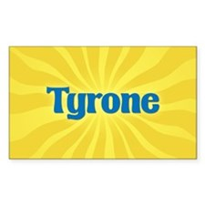 Tyrone Sunburst Oval Decal