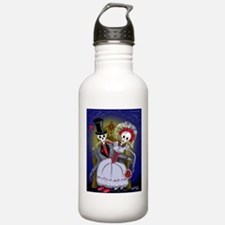 Muertos Bride and Groom Water Bottle