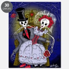Muertos Bride and Groom Puzzle