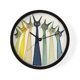 Stray Wall Clocks