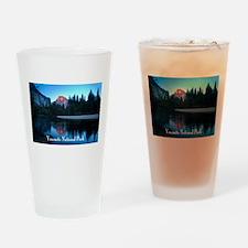 Half Dome sunset in Yosemite National Park Drinkin