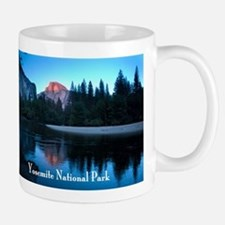 Half Dome sunset in Yosemite National Park Mug