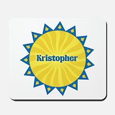 Kristopher Sunburst Mousepad