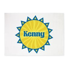 Kenny Sunburst 5'x7' Area Rug