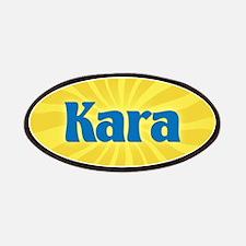 Kara Sunburst Patch