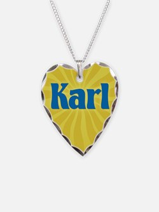Karl Sunburst Necklace