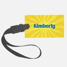 Kimberly Sunburst Luggage Tag