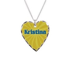 Kristina Sunburst Necklace