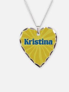 Kristina Sunburst Necklace