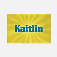 Kaitlin Sunburst Rectangle Magnet