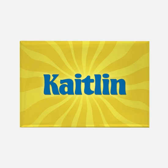Kaitlin Sunburst Rectangle Magnet