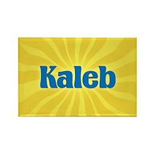 Kaleb Sunburst Rectangle Magnet