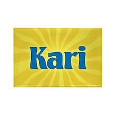 Kari Sunburst Rectangle Magnet