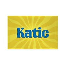 Katie Sunburst Rectangle Magnet