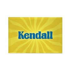 Kendall Sunburst Rectangle Magnet