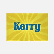 Kerry Sunburst Rectangle Magnet