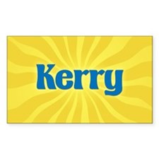 Kerry Sunburst Oval Decal