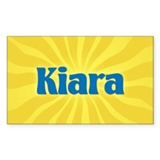 Kiara Sunburst Oval Decal