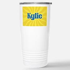 Kylie Sunburst Stainless Steel Travel Mug