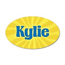 Kylie Sunburst Wall Decal