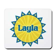 Layla Sunburst Mousepad