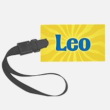 Leo Sunburst Luggage Tag