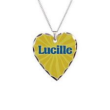 Lucille Sunburst Necklace
