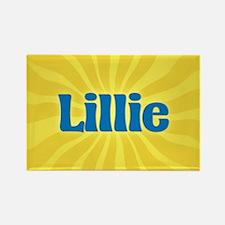 Lillie Sunburst Rectangle Magnet