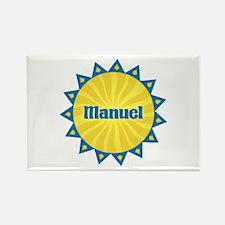 Manuel Sunburst Rectangle Magnet