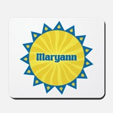Maryann Sunburst Mousepad