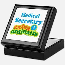 Medical Secretary Extraordinaire Keepsake Box