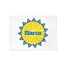 Marco Sunburst 5'x7' Area Rug