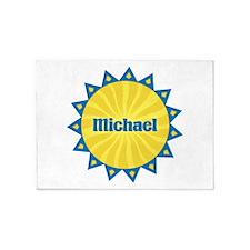 Michael Sunburst 5'x7' Area Rug