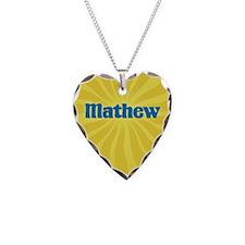 Mathew Sunburst Necklace