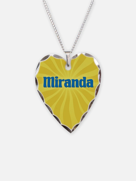 Miranda Sunburst Necklace