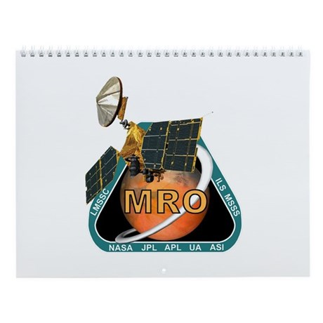 Destination Mars Wall Calendar